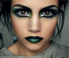 Crazy Eye Make Up for Halloween - Eye makeup ideas for natural ...