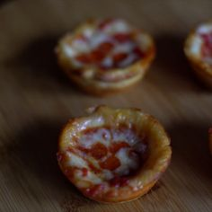 These deep dish bites are so adorable, they'll steal a pizza your heart.
