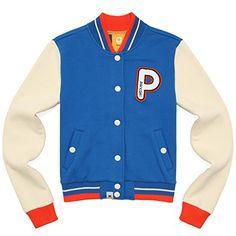 Pancoat Poppeli Fleece Stadium Jumper (Swedish Blue) Kpop Street Fashion  http://www.beststreetstyle.com/pancoat-poppeli-fleece-stadium-jumper-swedish-blue-kpop-street-fashion/