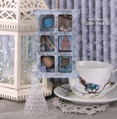новогодняя подвеска, украшение на камин, украшение на стол, праздничный стол, скрапбукинг Shadow Box, Decorative Plates, Crafts, Craft Ideas, Manualidades, Handmade Crafts, Craft, Arts And Crafts, Artesanato