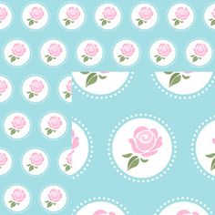Silhouette Design Store - View Design #130901: shabby chic paper collection