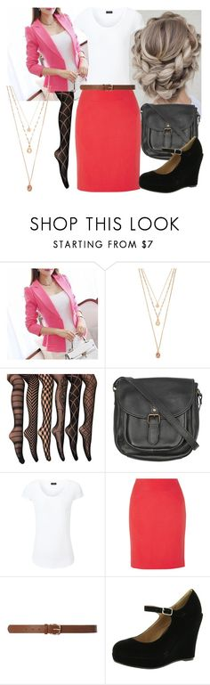 """""""Professional"""" by hallaveryh ❤ liked on Polyvore featuring Forever 21, Fat Face, Joseph, Halston Heritage, Dorothy Perkins and Bonnibel"""