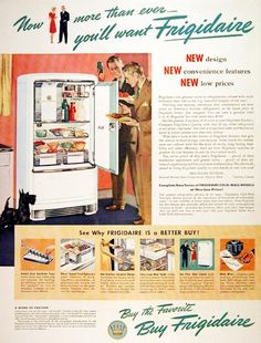1939 frigidaire refrigerator original vintage for General motors protection plan