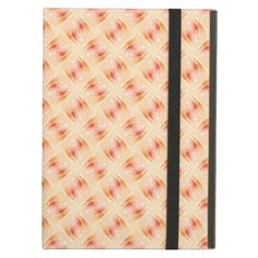 "Abstract pattern ""Peach"" iPad Air Covers"