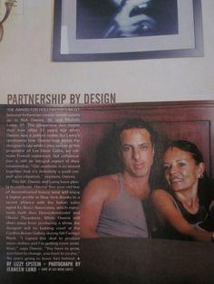 Rick Owens young | Rick Owens and Michele Lamy | Michele Lamy | Pinterest