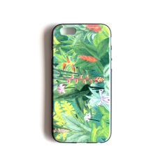 Jungle illustration cell phone cover Soft TPU Gel Silicone case for iPhone great as a forest lover gift as a nature phone case for him by liatib on Etsy Jungle Illustration, Iphone 6, Iphone Cases, Cell Phone Covers, Jungle Safari, Silicone Gel, Gift For Lover, Samsung, Nature