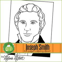 Joseph Smith Printable Coloring Page