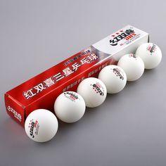 6ピース/箱オリンピックテニスホワイトピンポンボール卓球ボールプロの