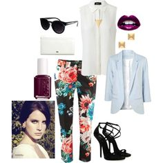 """Floral"" by bree-powell on Polyvore"