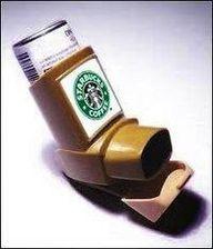 Starbucks inhaler