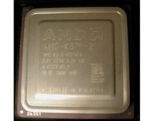 Processor - 1 x AMD K6-2 450 MHz (100 MHz) - Socket 7 by AMD. $7.50. The first processor to incorporate AMD's innovative 3DNow! technology, the AMD-K6-2 processor delivers an outstanding combination of price and performance along with a powerful 3D experience for Windows computing. The AMD-K6-2 processor works hand-in-hand with today's leading 3D graphics accelerators to enhance 3D processing power and generate exciting levels of realism in personal computing. ...