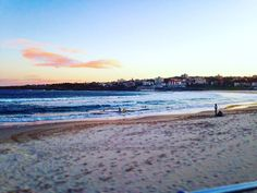 (Loc) Posted on May 27 2016 at 09:25PM: Another stunning #sunset in #Bondi this eve especially on the cusp of #winter. by neilosul