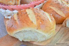 Baby Food Recipes, Bread Recipes, Dessert Recipes, Healthy Recipes, Cooking Bread, Bread Baking, Good Food, Yummy Food, Romanian Food