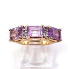 Vintage Gold Tone Emerald Cut Anerhyst Triple Stone Ethernity Ring Size 6.25 http://www.ebay.com/itm/Vintage-Gold-Tone-Emerald-Cut-Anerhyst-Triple-Stone-Ethernity-Ring-Size-6-25-/141610305856?pt=LH_DefaultDomain_0&hash=item20f8a1c940