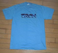"1982 ""Tron"" Cult Classic Sci-Fi Movie Promo T-shirt"