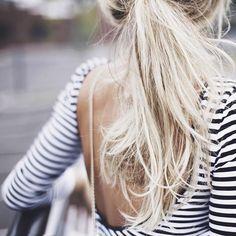 stripe open back top.