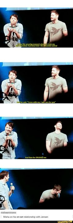 Jensen Ackles & Misha Collins ♥