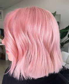 Trendy Hair Color Ideas 2018 : bubble gum pink hair Trendy Hair Color Ideas Kaugummi rosa Haare Source by . Pink Short Hair, Rose Pink Hair, Hair Color Pink, Cool Hair Color, Pink Hair Dye, Brunette Color, Pink Purple Blue Hair, Trendy Hair Colors, Pink Roses