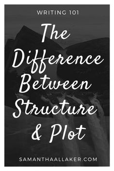 The words 'structure' and 'plot' are often used interchangeably.  However, in reality, they are both two entirely different story elements — each with a unique role to play in your novel.   #writing #amwriting #writer #writers #publishing #WIP #writingblog #author #authors #novelwriting