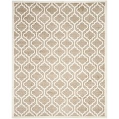 Safavieh Amherst Collection AMT402S Wheat and Beige Indoor/ Outdoor Area Rug (9' x 12') *** Read more reviews of the product by visiting the link on the image. (This is an affiliate link) #AreaRugsRunnersandPads