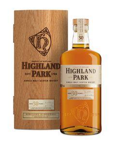 Highland Park - Island Single Malt - 25 year old Whisky Scotch Whisky, Bourbon Whiskey, Whisky Honey, Whisky Bar, Whiskey Cocktails, Irish Whiskey, Highland Park Whisky, Rum, Single Malt Whisky