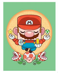 Mario & Samus Created by Craig Parrillo || Tumblr Part of...