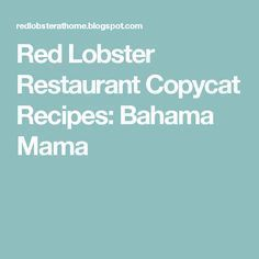 Nusret Hotels – Just another WordPress site Red Lobster Bahama Mama Recipe, Bahama Mama Drink, Cocktail Drinks, Fun Drinks, Yummy Drinks, Beverages, Cocktails, Cold Drinks, Red Lobster Restaurant