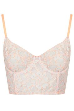 Fluro Corded Lace Bralet
