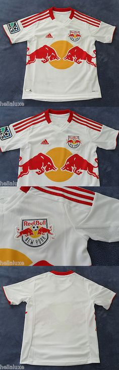 Youth 159099: New~Adidas New York Red Bull Soccer Football Ny Shirt Jersey Usa Top~Youth Sz Xl -> BUY IT NOW ONLY: $59.99 on eBay!