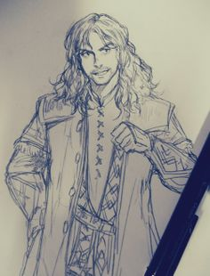 Kili Pencil Sketch