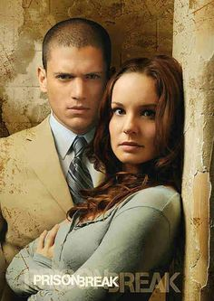 I miss Prison Break. He's so hot. Great tv, show. Michael Scofield and Sara Tancredi, photo Michael Scofield, Prison Break 3, Sara Tancredi, Wentworth Miller Prison Break, Michael And Sara, Sarah Wayne Callies, Broken Love, Samheughan, Lincoln Burrows