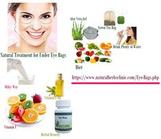 Natural Treatment for Under Eye Bags