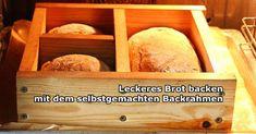 Selbstgebackenes Brot ist lecker und gesund. Mit dieser Bauanleitung bastelst du dir deinen eigenen Backrahmen, mit dem das Brotbacken ein Kinderspiel wird.