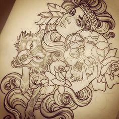 Brunswick artist... So pretty