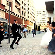 Una boda a lo Gangnam Style