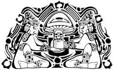 Fantasy - aztec Wallpaper
