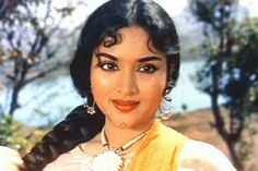 Vaijayantimala...She had ruled bollywood films during the 50s and 60s. She was the first South Indian actress to create a sensation in bollywood films and paved the way for other South Indian actresses to follow...