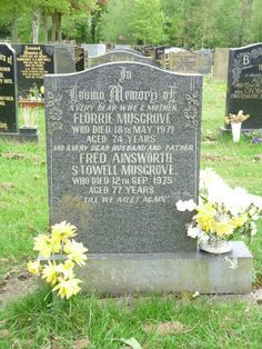 Fred and Florrie Musgrove