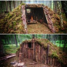 What do you think about this woodland shelter? Would you build something like th… What do you think about this woodland shelter? Would you build something like th…,Natur & Tiere What do you think. Bushcraft Camping, Camping Survival, Outdoor Survival, Survival Prepping, Survival Skills, Camping Hacks, Outdoor Camping, Van Camping, Emergency Preparedness