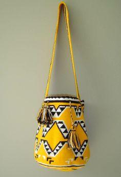 Fair Trade Wayuu Mochila Bag