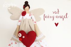 Countrykitty: Spring fairy angels (shop update)
