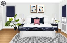 15 Modern Coastal Bedroom Design Ideas You'll Want to Try - futurisme French Master Bedroom, Master Bedroom Layout, Coastal Master Bedroom, Coastal Bedrooms, Bedroom Layouts, Modern Bedroom, Bedroom Ideas, Preppy Bedroom, Cool Teen Bedrooms