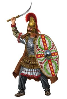 Ancient Armor, Medieval Armor, Dungeons And Dragons Characters, Fantasy Characters, Vlad The Impaler, Roman Warriors, Roman Era, Fantasy Warrior, Barbarian