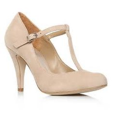 Carvela Nude Antigua High Heel Shoes