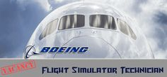 Flight Simulator Technician Required in Boeing in Saudi Arabia Visit jobsingcc.com for more info @ http://jobsingcc.com/flight-simulator-technician-required-boeing/