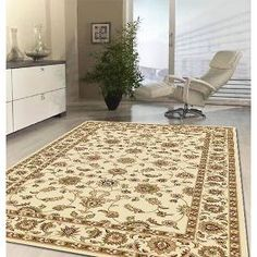 Classic Rug Ivory with Ivory Border 290x200cm