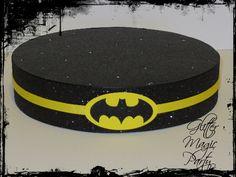 Batman Black Stand - Lollipops or Cakepops Stand - Batman Party Decoration - Batman Inspired
