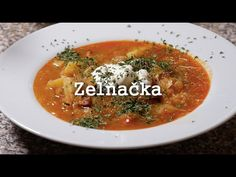 Czech Recipes, Ethnic Recipes, Ramen, Curry, Soup, Make It Yourself, Youtube, Chef Recipes, Simple