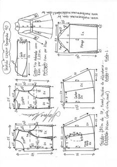 Coat Pattern Sewing, Gown Pattern, Coat Patterns, Dress Sewing Patterns, Jacket Pattern, Sewing Patterns Free, Clothing Patterns, Sewing Tutorials, Costura Fashion