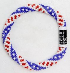 American Beauty - lily and Laura bracelet